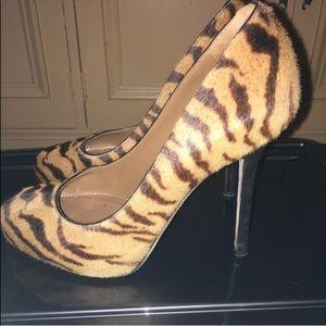 Sergio Rossi tiger heels